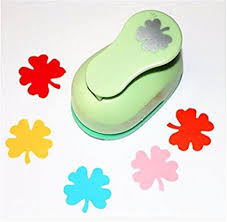 Flower Paper Punch Tool Amazon Com Lavenz 38mm Four Leaf Flower Paper Punch Cutter