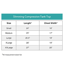 Roc Bodywear Size Chart Lish Mens Slimming Light Compression Tank Top Shirt
