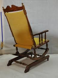 scandinavian vintage wooden rocking chair 1950s 6 967 00 per piece