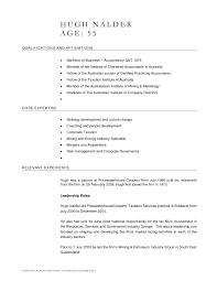 Australian Resume Template Word Download Australian Resume
