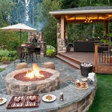 wood patio ideas on a budget. Contemporary Patio Outdoor Patio Ideas With Fire Pit Design On A Budget Small   To Wood L