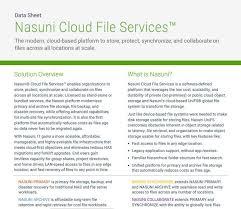 Nasuni Cloud File Services Mti
