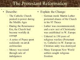 essay review turning points components of the regents essay f the protestant reformation describe the catholic church peaked in power during the middle ages