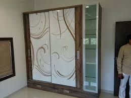 white glass door design