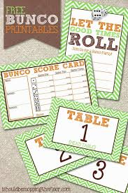 Bunco Score Sheets Template Beauteous Free Bunco Printables Let's Play BUNCO Pinterest Table Tents