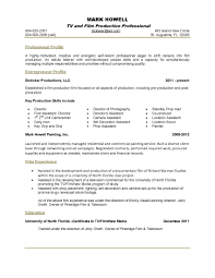 Resume Template How To Write A One Page Resume Template Free