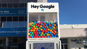 google plans to give out around 1 400 prizes a day from its gumball machine