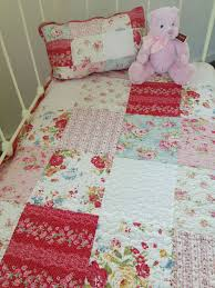 2 pce linens n things emma girls baby nursery cot quilt filled cushion