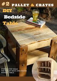 few more bedside table inspiration diy pallet