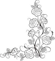 Small Picture 136 best Roses to Color images on Pinterest Drawings Mandalas