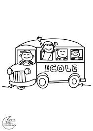 Dessin Dun Autobus Scolairelll