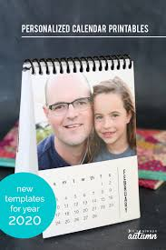 Photoshop Calendar Template 2020 Diy Mini 2020 Photo Calendar Free Printable Templates