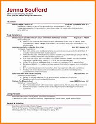 How To Write A Resume For College Objective On Resume For College Student Fungramco 93