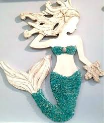 mermaid wall decor wooden mermaid wall art wooden mermaid wall decor mermaid wall art beach decor mermaid wall decor