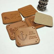 15 <b>styles</b> leather label <b>100pcs</b>/<b>set</b> handmade Patchwork DIY Sewing ...