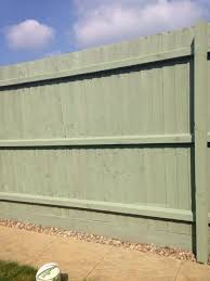 sage green fence paint garden fence