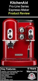 kitchen aid pro line series espresso maker review
