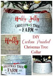 how to make a tree collar custom painted tree collar tree basket collar