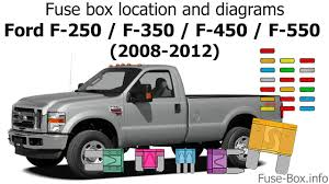2008 ford f 250 fuse box location wiring diagrams fuse box location and diagrams ford f series super duty 2008 2012 2008 ford f450 interior fuse box diagram 2008 ford f 250 fuse box location