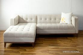 Awesome Cody Premium Top Grain Brown Tufted Leather Sectional Sofa Free In Tufted  Sectional Sofas Modern   Dwfields.com