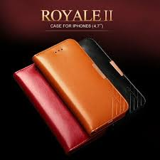 kld royale ii genuine calf leather flip wallet case cover for apple iphone 6s 6 red wine for