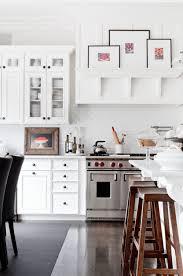painted kitchen cabinet ideas popular white paint cabinets floor off warm colors simple designs design backsplash