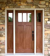 craftsman style front doorsExterior Doors  craftsman style fir textured fiberglass door with