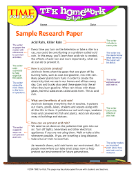 sample of an outline for a research paper th grade little page 1 research paper sample