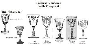 Fostoria Glass Patterns Adorable Crystal Ball Article Similarities Cause Confusion For Beginning