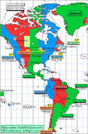 Time Map Worldtimezone Current Time Around The World And Standard