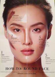 contour round face how to from sephora