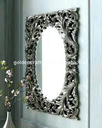 fancy mirror frames design decorative wall frame plastic mirrors