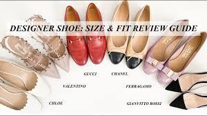 Ferragamo Women S Shoe Size Chart Designer Shoe Size Fit Review Guide Chanel Gucci Valentino Ferragamo Chloe Gianvitto Rossi