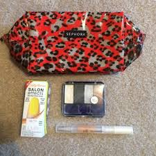 makeup lot sephora cover elf sally hansen makeup lot sephora leopard makeup bag um sized brand