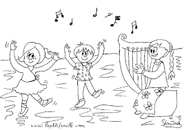 Rubrique Sports Coloriage Danse Danse Dessincoloriage