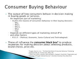 socio cultural factors in consumer decision processes  consumer behaviour and planning appropriate market strategies 4