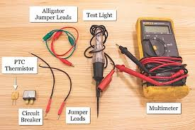 diagnosing blown fuses besides the multimeter test light and a terminal jumper lead kit diagnosing blown fuses requires a device that can be utilized as a resettable fuse