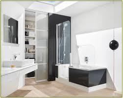 149 Best Small Full Bath Ideas Images On Pinterest  Bath Ideas 4 Foot Tub Shower Combo
