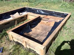 10 X 10 Keyhole Raised Bed Made From Shipping Pallets Yoga