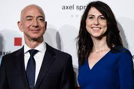 Jeff Bezos' Wife To Get 4% Of Amazon In ...