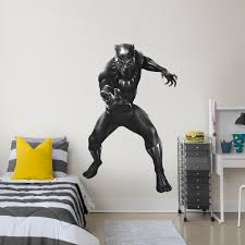 marvel s black panther life size officially licensed removable wall decal fathead