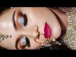 indian muslim bridal makeup tutorial in