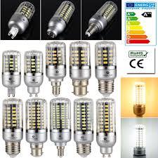 85 265v Full Watt Smart Ic Led Corn Bulb 5736 Smd Lamp E14 E27 G9