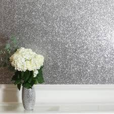 sequin sparkle silver wallpaper