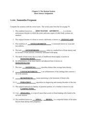 urinary system essay rough draft samantha ferguson a p mf  most popular documents for bio 2144