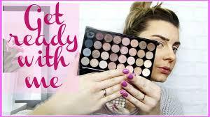 grwm z podŁogi makijaŻ paletĄ beyond flawless makeup revolution