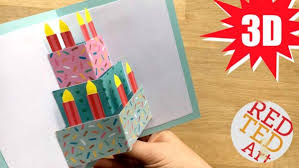 Easy Homemade Birthday Cards  AlanarasbachComCard Making Ideas For Birthday