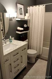 Decorating Small Bathrooms Pinterest Small Master Bathroom Makeover Extraordinary Decorating Small Bathrooms On A Budget Ideas