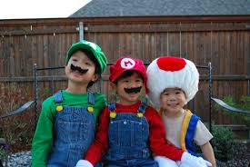 meet luigi mario and toad well the asian version