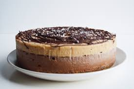 Vegan Chocolate & Salted Caramel Cheesecake My Vibrant Kitchen